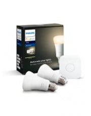 E27 Philips Hue White Starter Kit - 2 Lyskilder