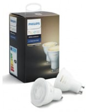 Philips Hue White Ambiance LED spot - GU10 2-pack