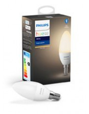 Philips Hue White LED pære - E14 Kerte