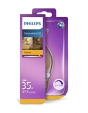 E14 - Philips Kerte LED (flamme) - 5W