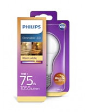 E27 - Philips LED - 11W - Warm Glow (Dæmpbar)