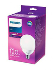E27 - Philips LED Globe Pære - 18W