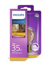 E27 - Philips LED Krone - 5W (dæmpbar)