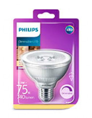 E27 - Philips LED Reflektor - 9.5W