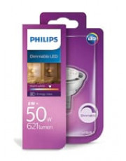 MR16 - PHILIPS LED Spot - 8W - Dæmpbar