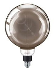 E27 - Philips Vintage Globe LED - 6.5W (Smoky)