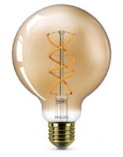 E27 - Philips Vintage Globe LED - 5W