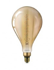 E27 - Philips Vintage XXL Dråbe LED - 5W