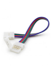 RGB Color LED SmartClip dobbelt stik