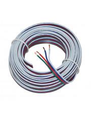10m RGB ledning (4 leder)