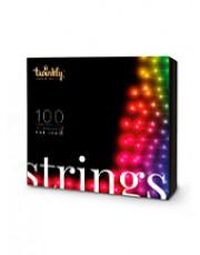 Twinkly Strings Lyskæde - Farvet lys - 8m - 100 Lys