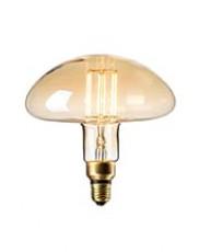 Calex XXL Calgary LED lampe - Gylden - 6W
