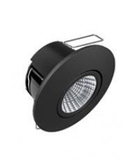 HiluX D6 LED Spot - 3000K - Sort (Full Spectrum)