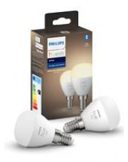 Philips Hue White LED pære - E14 Krone 2-pak