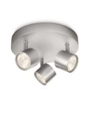Philips myLiving Star Plate LED spot - Alu