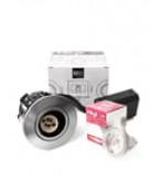 HiluX D10 Indbygningsspot - Hvid eller Alu- inkl. HiluX LED spot