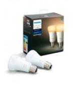 Philips Hue Ambiance LED pære - E27 - 2-pak
