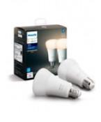 Philips Hue White LED pære - E27 - 2-pak