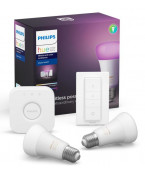 E27 - Philips Hue Farvet Starter Kit - BT