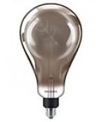 E27 - Philips Vintage Dråbe LED - 6.5W (Smoky)