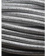 Sølv glimmer stofledning