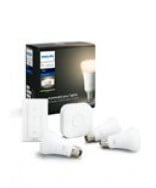 E27 - Philips Hue White Starter Kit - BT