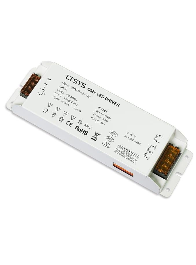 Image of   DMX LED Driver - 75W m. PUSH dæmp