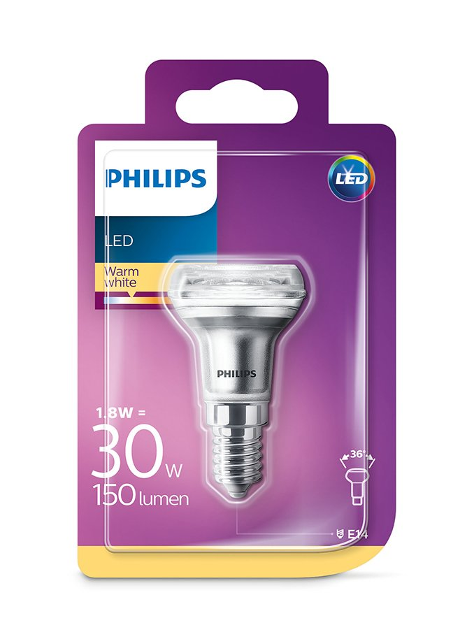 Image of   E14 - Philips LED Reflektor Spot - 1.8W