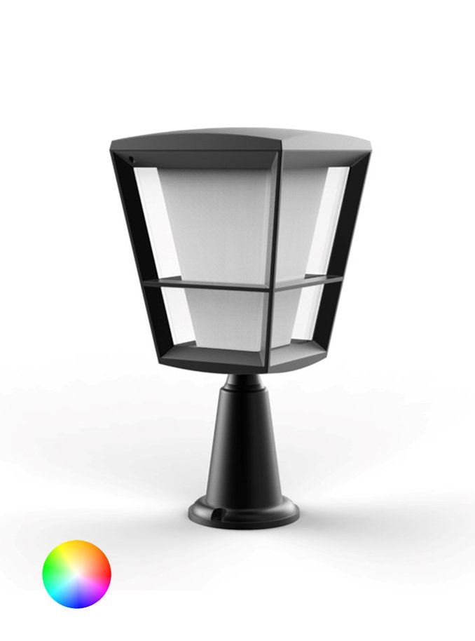 Image of   Philips Hue Econic Color - 32cm Bedlampe