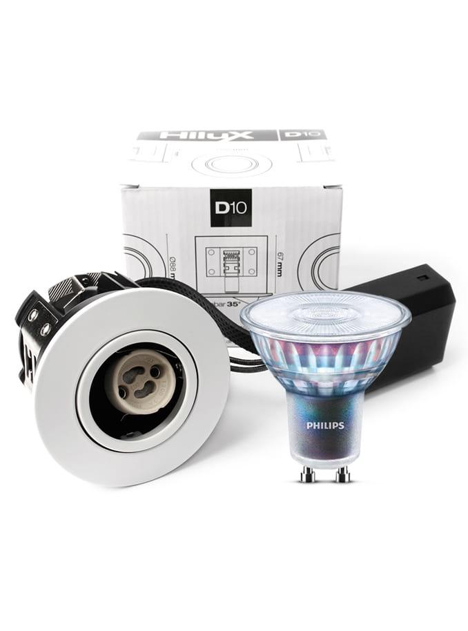 Image of   HiluX D10 - inkl. 5.5W Philips Expert Color LED pære Cri:97