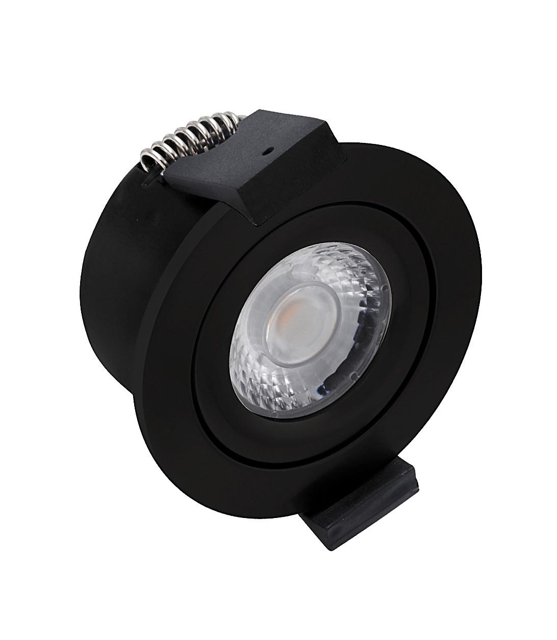 Image of   HiluX D3 LED Spot 5W - Ra97 - 380LM - 2700K - Sort Udendørs