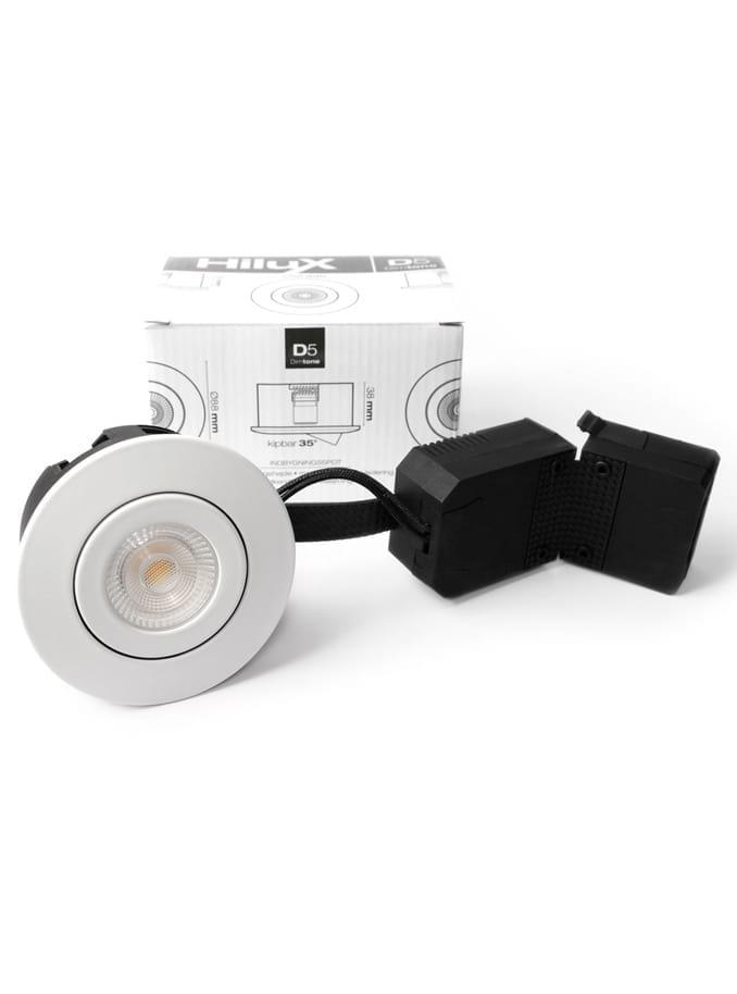 Image of   HiluX D5 indbygningsspot - inkl. Ra95 LED lyskilde