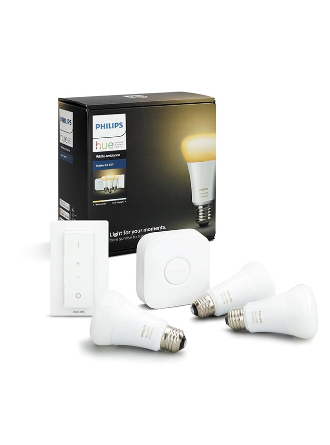 Image of   E27 - Philips Hue Ambiance Starter Kit - BT