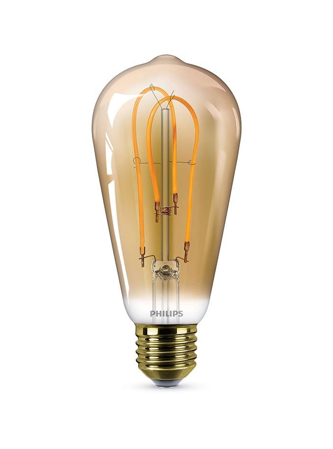 Image of   E27 - Philips Vintage Edison LED - 5W