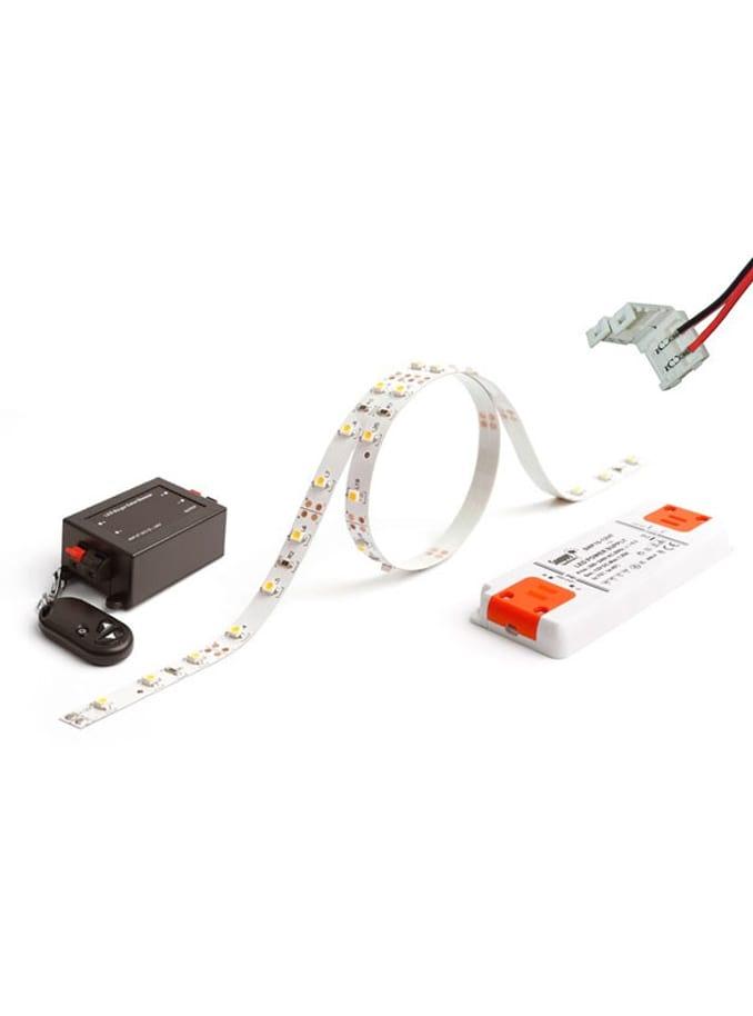LED Bånd - 5m. Komplet sæt - 950 lm/m.