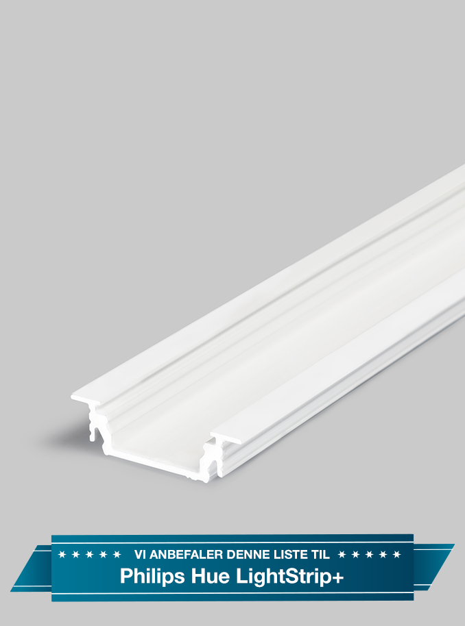 Image of Aluminiumsprofil - Model G til Philips Hue LightStrip Plus