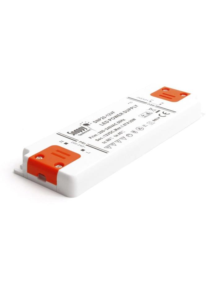 Image of   Snappy LED Strømforsyning - 12V - 20W - IP20