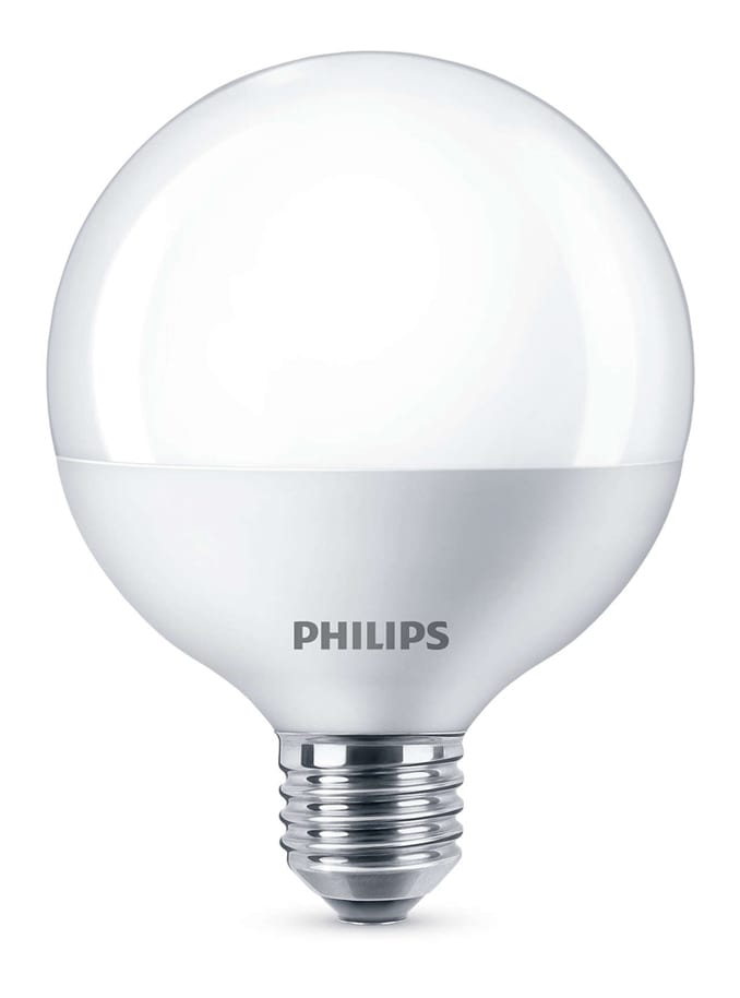 Image of   LED globe pære - Philips - 9,5cm - mat