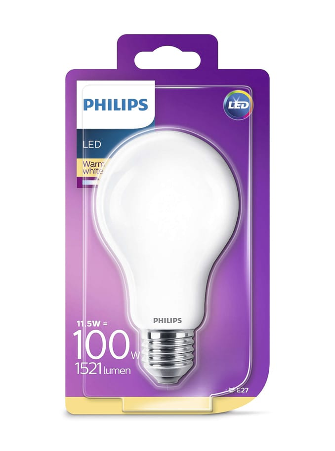 Image of   E27 - Philips Classic LED - 10.5W