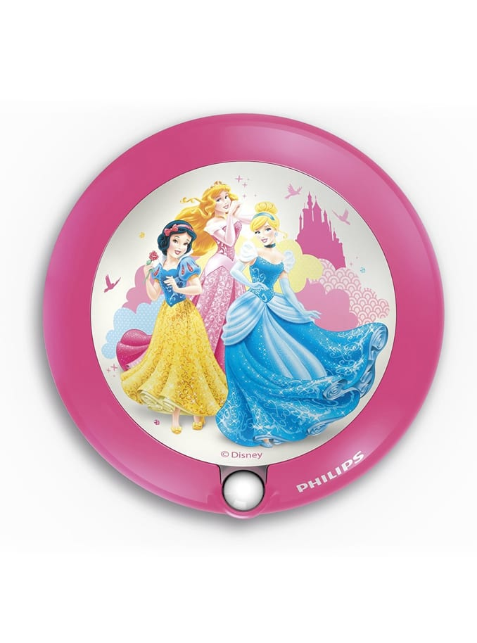 Image of   Philips Disney Princess LED væglampe med sensor