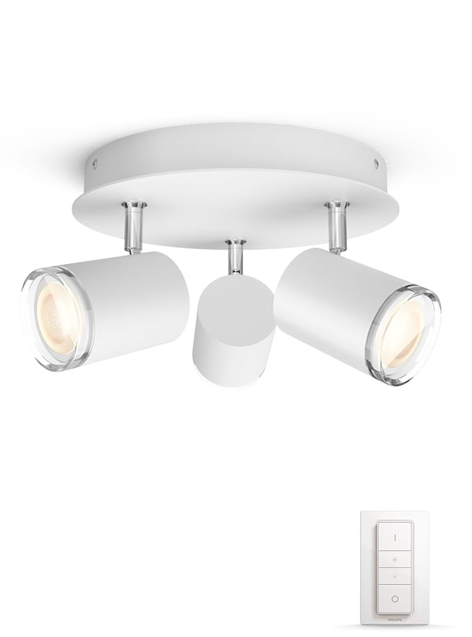 Image of   Philips Hue Adore - Rund Triple Spot - IP44