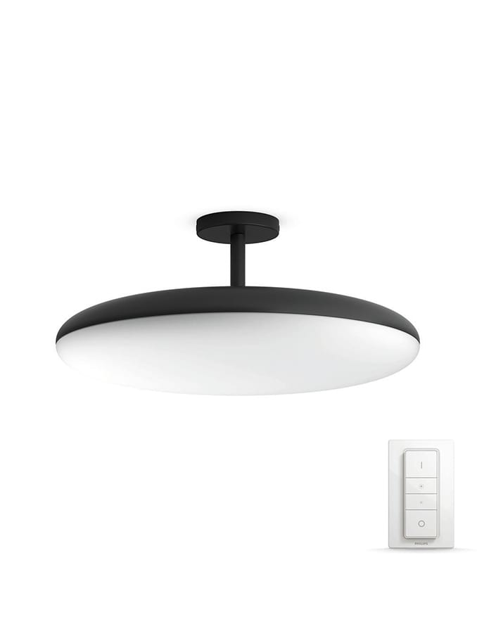 Image of   Philips Hue Cher Semi-Flush Plafond - Sort