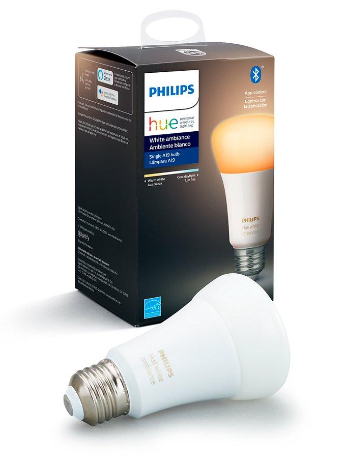 Image of   Philips Hue Ambiance LED pære - E27 Hvid - BT