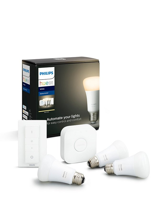 Image of   E27 - Philips Hue White Starter Kit - BT + Gratis motion sensor