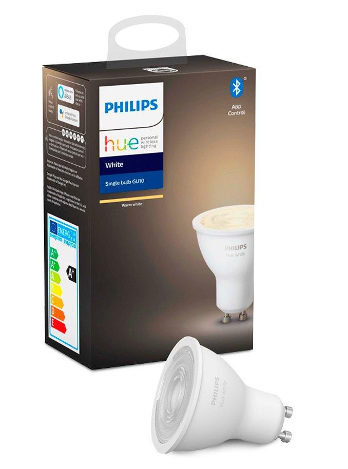 Image of   Philips Hue White LED spot - GU10 - BT