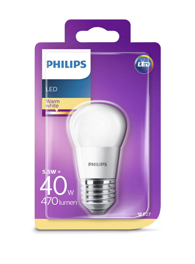 Image of   E27 - Philips Krone LED - 5.5W