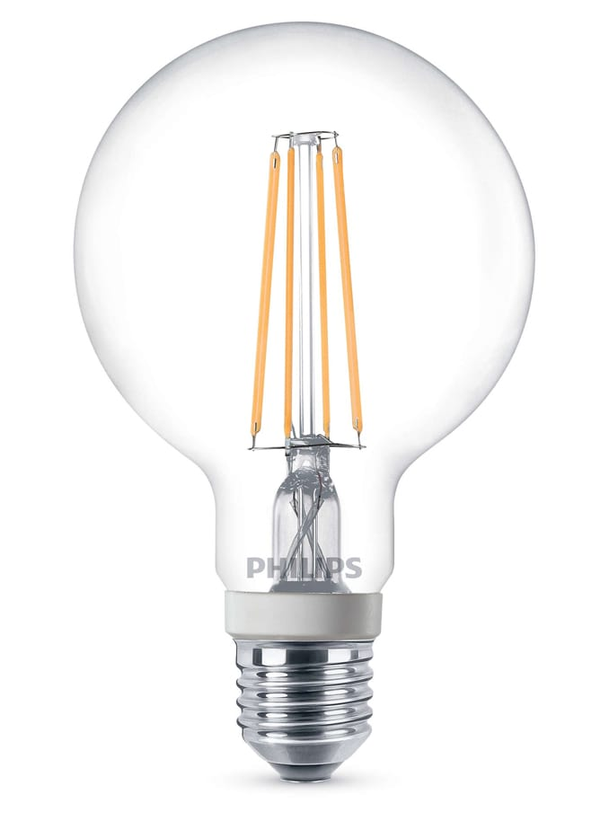 Image of   LED globepære - Philips - 9,5cm - dæmpbar