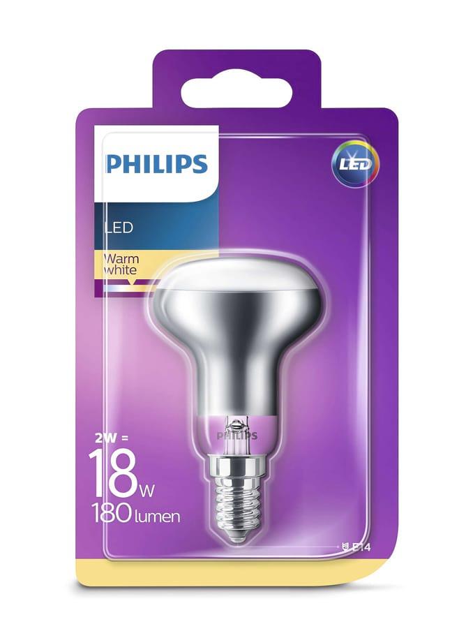 Image of   E14 - Philips LED Reflektor - 2W