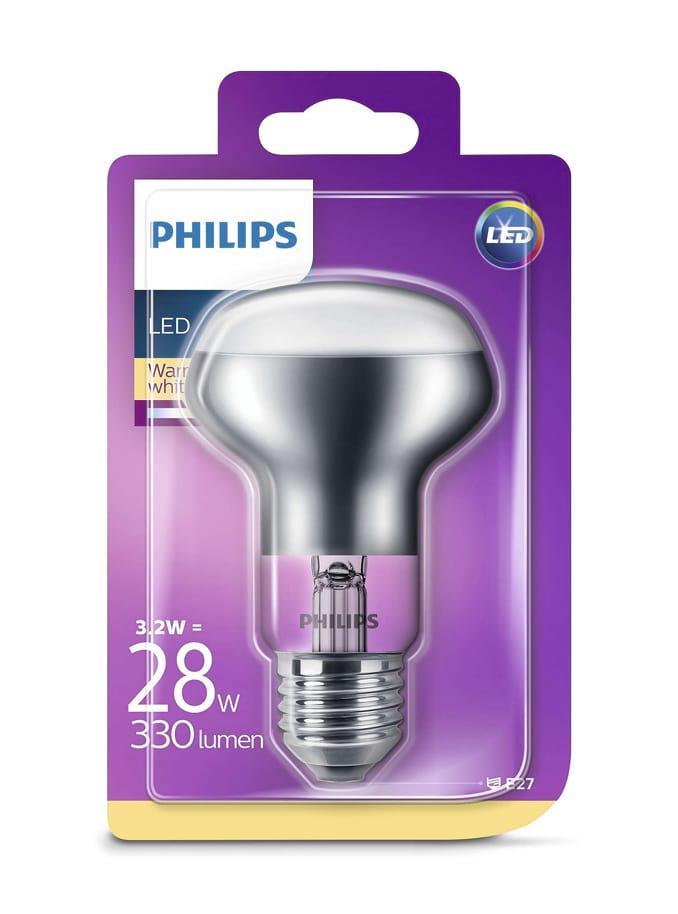 Image of   E27 - Philips LED Reflektor - 3.2W