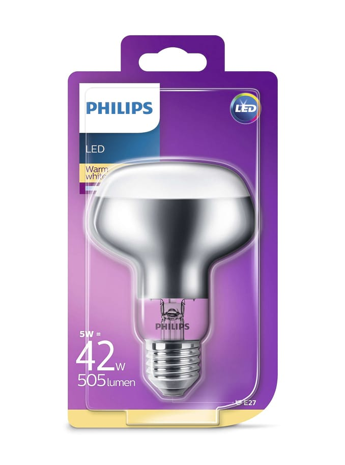 Image of   E27 - Philips LED Reflektor - 5W